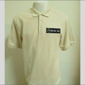 Sz L-XL Tan Brown Nike Men 100% Cotton #331 Polo